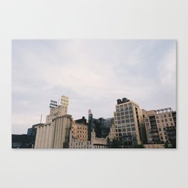 Minneapolis Architecture - Mill City Canvas Print