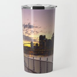 Pittsburgh At Dawn Travel Mug