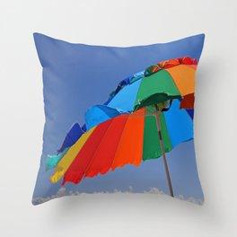 No Business Throw Pillow