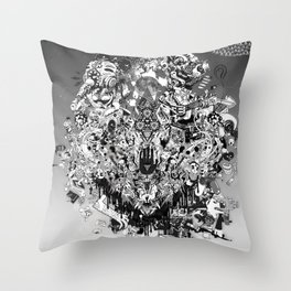 Be Nice Throw Pillow