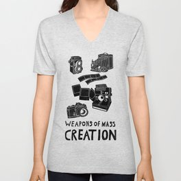 Weapons Of Mass Creation - Photography (clean) Unisex V-Neck
