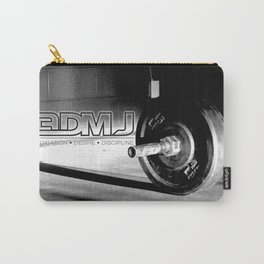 3DMJ Black Outline Carry-All Pouch