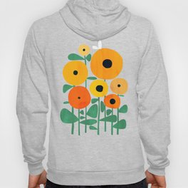 Sunflower and Bee Hoody
