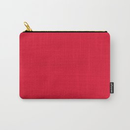 Juicy Red Apple Brush Texture Carry-All Pouch