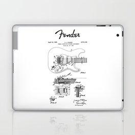 Guitar Tremolo Patent Black Laptop & iPad Skin