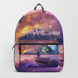 Sailing Away To The New World, From The Darkness To The Light Backpack