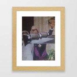 """L'ascenseur Social"" Framed Art Print"