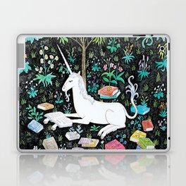 The Unicorn is Reading Laptop & iPad Skin
