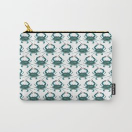 Pattern: Blue Crab Fest! ~ (Art Copyright 2013) Carry-All Pouch