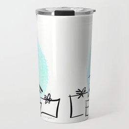 Holiday Greetings Travel Mug