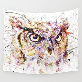 Owl // Ahmyo Wall Tapestry