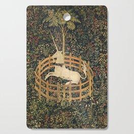 The Unicorn In Captivity Cutting Board