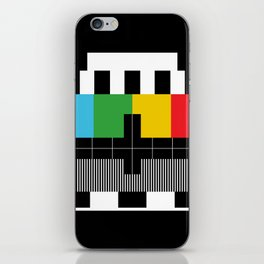 Test Pattern iPhone Skin