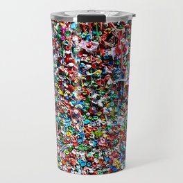 Pop of Color - Seattle Gum Wall Travel Mug