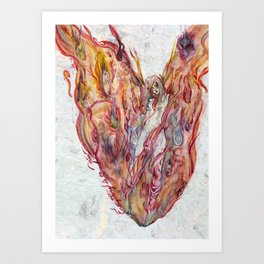 Everything's on Fire Art Print