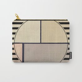 Toned Down - line graphic Carry-All Pouch