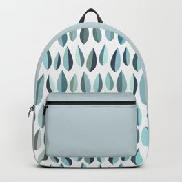 Mid-Century Modern Leaf pattern Collection 3 Backpack