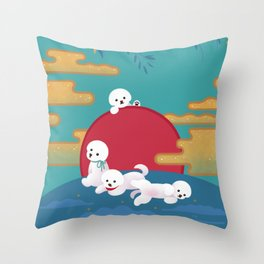 Year of dog Throw Pillow