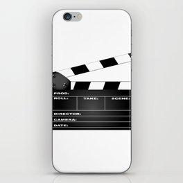 Clapperboard iPhone Skin