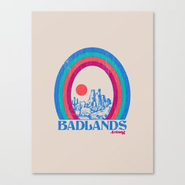 Badlands AZ Canvas Print