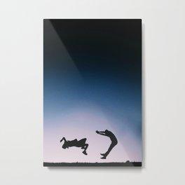 The Blue Series #2 Metal Print