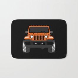 [JEEP] Orange + Black BG Bath Mat