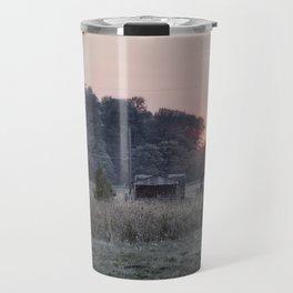 Rural Sunset Travel Mug
