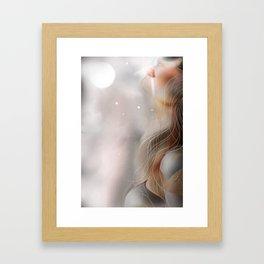 LIGHT ATOM 2 Framed Art Print