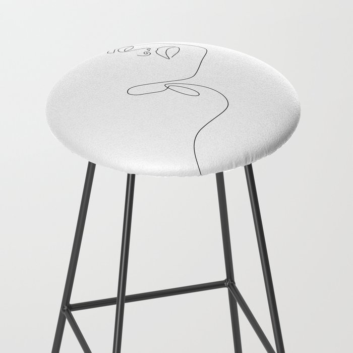 Dreamy Girl Bar Stool