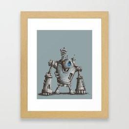 Robot #2 Framed Art Print