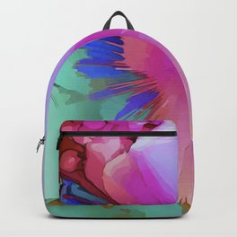 Bright Tropical Design Backpack