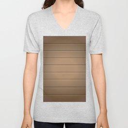 Wood Table Pattern Unisex V-Neck