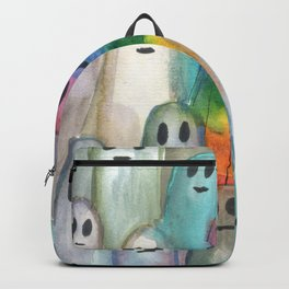 the rainbow gay ghost Backpack