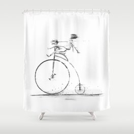 Death Of Me Shower Curtain