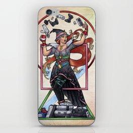 QT Witch by Bobbie Berendson W iPhone Skin
