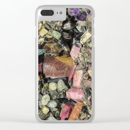 Gems collection 3 Clear iPhone Case