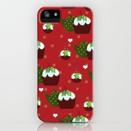 The Christmas Pudding Collection  iPhone Case