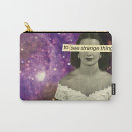 To See Strange Things Carry-All Pouch