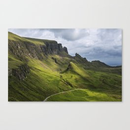 Mesmerized by the Quiraing Canvas Print