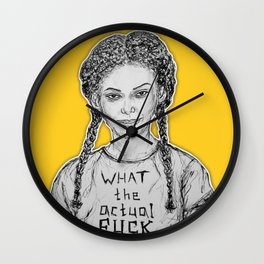 (Chewing Gum - Michaela Coel) - yks by ofs珊 Wall Clock