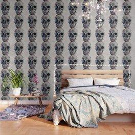 Floral Skull 2 Wallpaper
