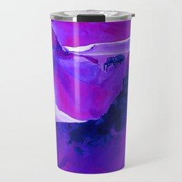 Bug On A Rose - Torrid Violet Travel Mug