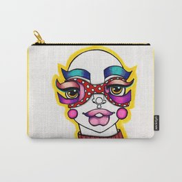 JennyMannoArt Colored Illustration/Sheila Carry-All Pouch