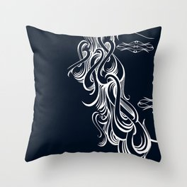 MISS FILIGRANES Throw Pillow