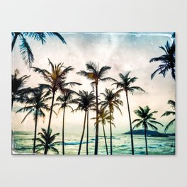 No Palm Trees Canvas Print