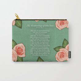 No Waivering of His love By Feon Davis Carry-All Pouch