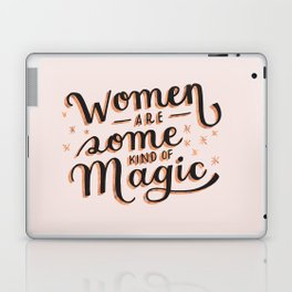 Women are Some Kind of Magic - The Princess Saves Herself in This One Laptop & iPad Skin