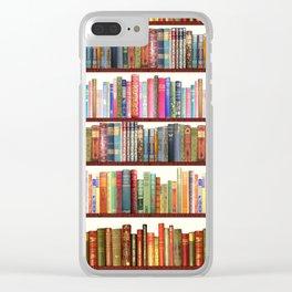 Jane Austen Vintage Book collection Clear iPhone Case