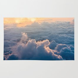 cloud and sun Rug