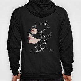 Catwoman in Black Hoody